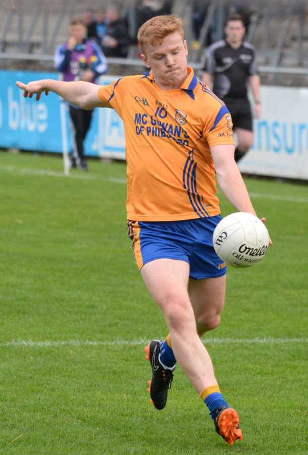 POISE: Na Fianna forward Conor McHugh. Pics: Justin Farrelly