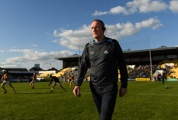 DRIVEN: Dublin hurling manager Mattie Kenny knows what to prioritise. Pic: Sportsfile