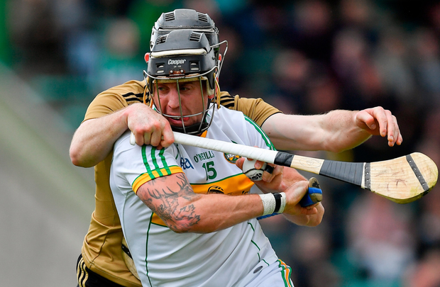 OUT: Offaly's Shane Dooley. Photo: Brendan Moran/Sportsfile