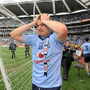 Dublin's Kevin McManamon is overcome with emotion in 2011