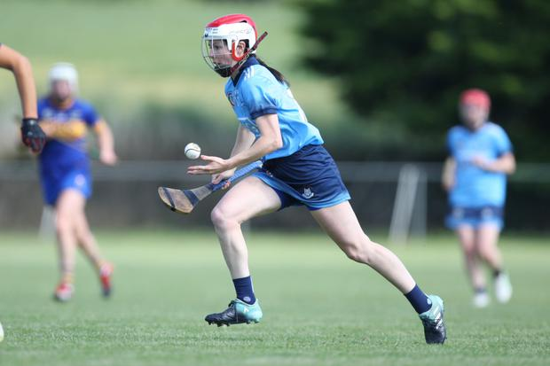 Siobhán Kehoe displayed all the skills of the game