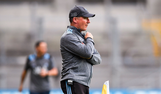 Dublin manager Jim Gavin studies the action during last Saturday night's game