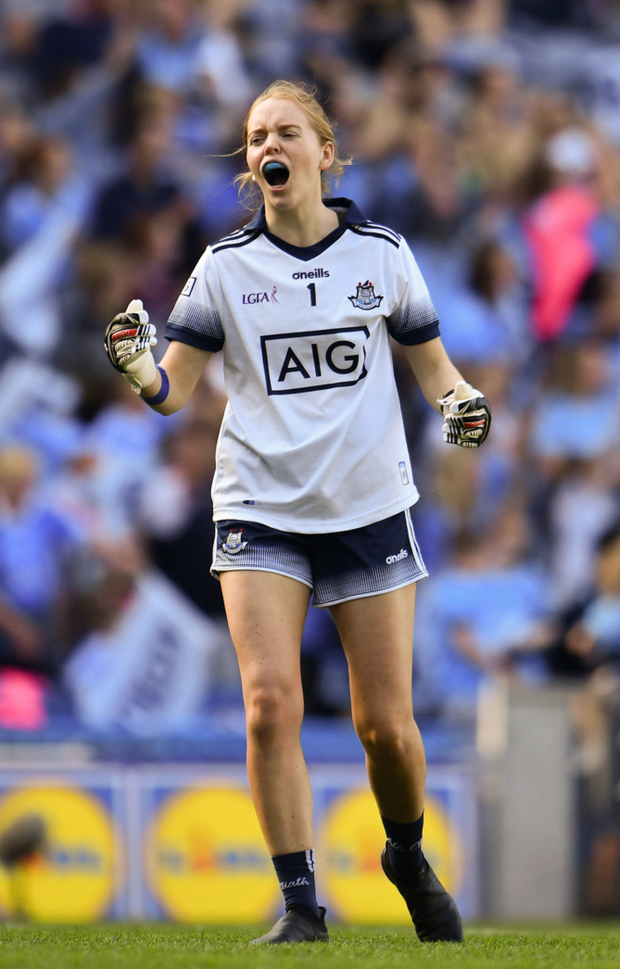 Dublin keeper Ciara Trant has the desire for more All-Irelands