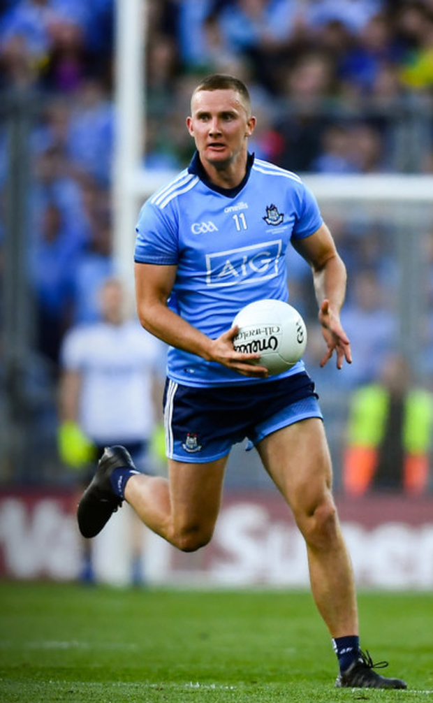 Dublin's Ciarán Kilkenny was told to go for scores in the All-Ireland replay. Photo: Sportsfile