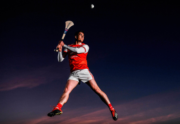 CENTRALLY INVOLVED: Seán Moran, who was at the launch of the AIB Camogie and Club Championships, believes Con O'Callaghan won't be out long with his injury. Photo: SPORTSFILE