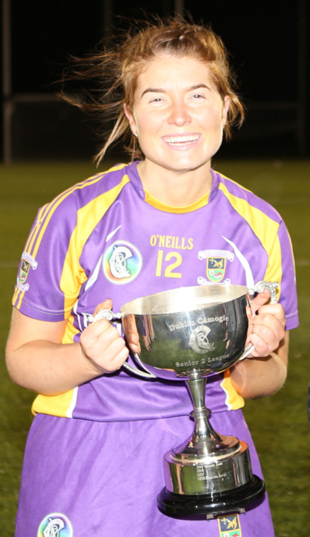 Crokes won the Dublin Senior 2 Camogie Championship final. Picture: Steven Dagg.
