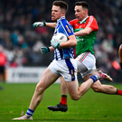 IMPROVING: Ballyboden's Robbie McDaid in action against Garrycastle in the Leinster SFC Club semi-final. Pic: Sportsfile