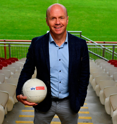 Sky Sports GAA football analyst Peter Canavan