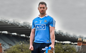Philly McMahon at the Allianz Football League Finals Media Day in Dublin. Photo: Ramsey Cardy/Sportsfile