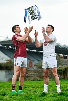Galway's Shane Walsh and Kildare's Eoin Doyle. Photo: Sportsfile
