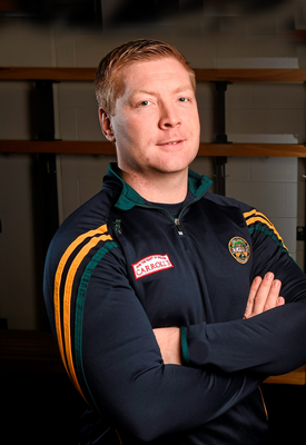 Offaly football goalkeeper, Alan Mulhall. Pic: Paul Mohan/Sportsfile