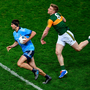 DRIVING ON: James McCarthy, who captained Dublin on Saturday night in Croke Park. Pic: Sportsfile