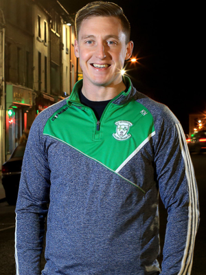 Former Dublin footballer Kevin Nolan, who now plays for Cremartin in Monaghan, pictured in Castleblaney