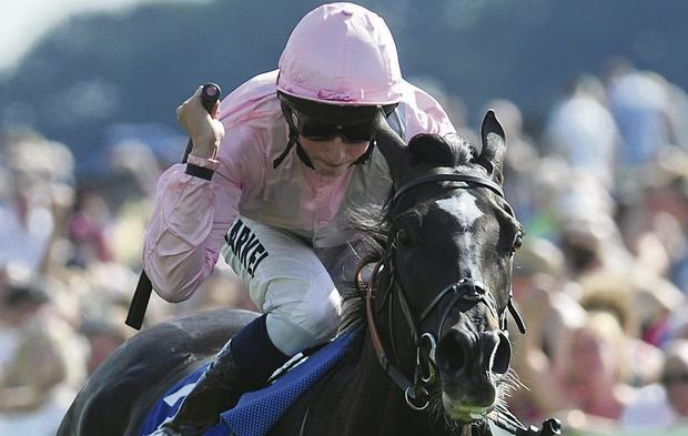 The Fugue ridden by William Buick. Picture: Anna Gowthorpe/PA