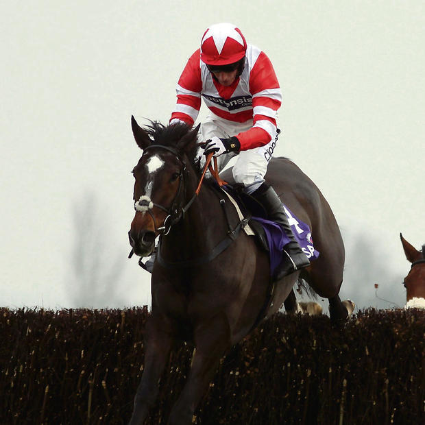 Just A Par and Daryl Jacob. Picture credit: Steve Parsons/PA Wire