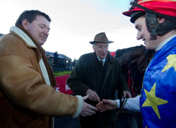 Francis Flood pictured at Punchestown back in 2014. He passed away yesterday. Pic: Racing Post