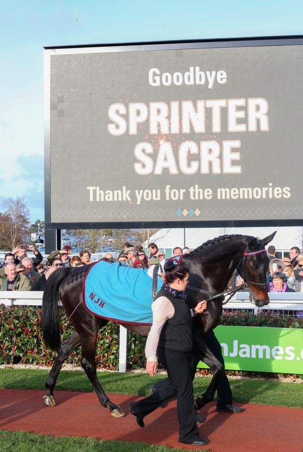 Sprinter Sacre Picture: PA