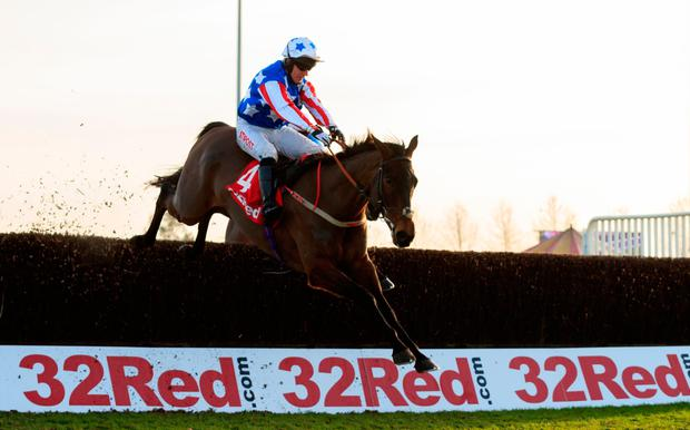 Special Tiara is expertly handled by Noel Fehily on the way to victory at Kempton. Photo: PA