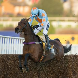 Un De Sceaux, with Ruby Walsh on board, on the way to winning the Tingle Creek in Sandown last month. Pic: Edward Whitaker