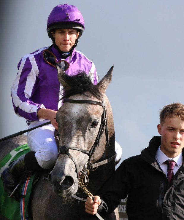Ryan Moore passed a landmark this week that he wasn't even aware was on the horizon. Pic: racingpost.com