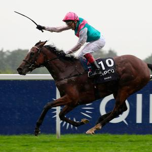 Enable isa favourite for the Qatar Prix de l'Arc de Triomphe. Pic: PA Wire