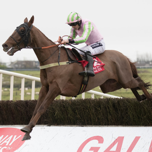 Call It Magic, with Ruby Walsh on board, on the way to winning the Kone Handicap Chase at Galway back in November