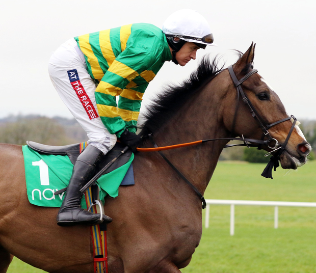 Top team: Anibale Fly and Barry Geraghty
