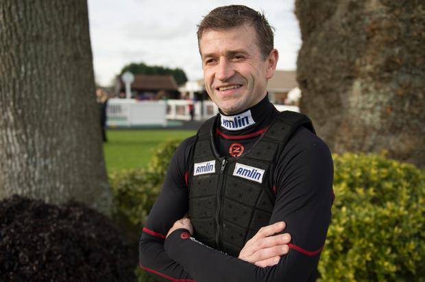 Jockey Andrew Thornton will bring the curtain down on his career in the saddle today Pic: racingpost.com