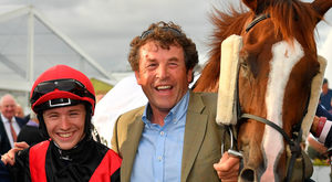Colin Keane, Adrian McGuinness and Saltonstall