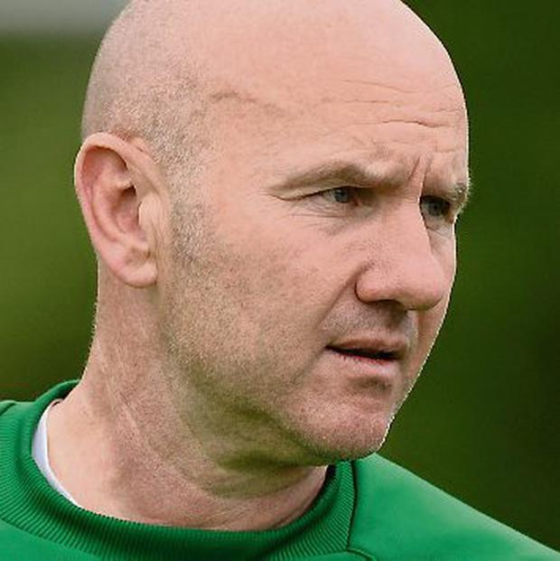 Paul Doolin, Republic of Ireland Under-19 manager Picture: David Maher / SPORTSFILE