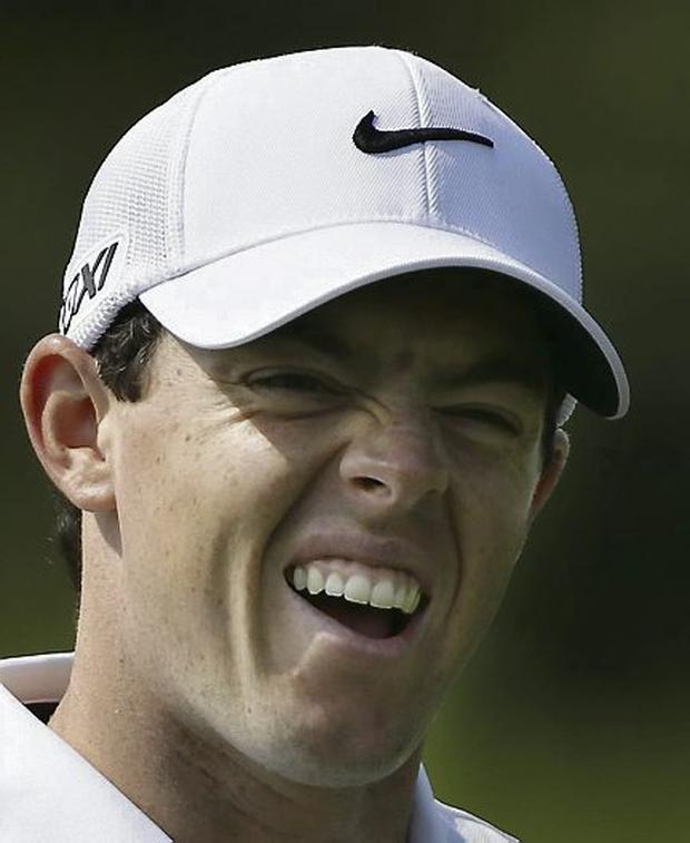 Rory McIlroy. Picture credit: AP