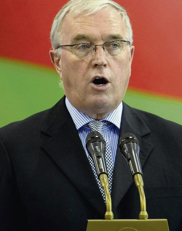 International Cycling Union president Pat McQuaid. Photo: Tim Ireland/PA Wire