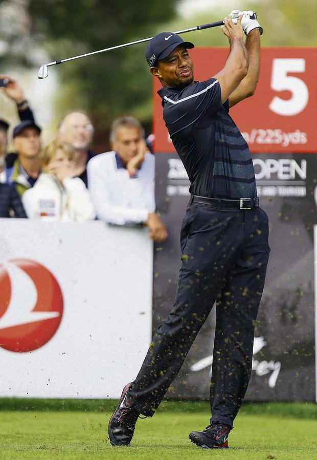 Tiger Woods. Picture: Kaan Soyturk/AP