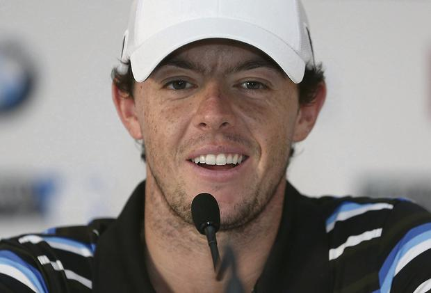 Rory McIlroy. Picture: Andrew Redington/Getty