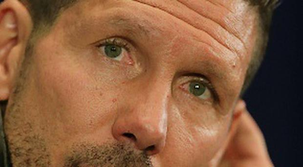 Atletico Madrid manager Diego Simeone. Photo: Nick Potts/PA Wire