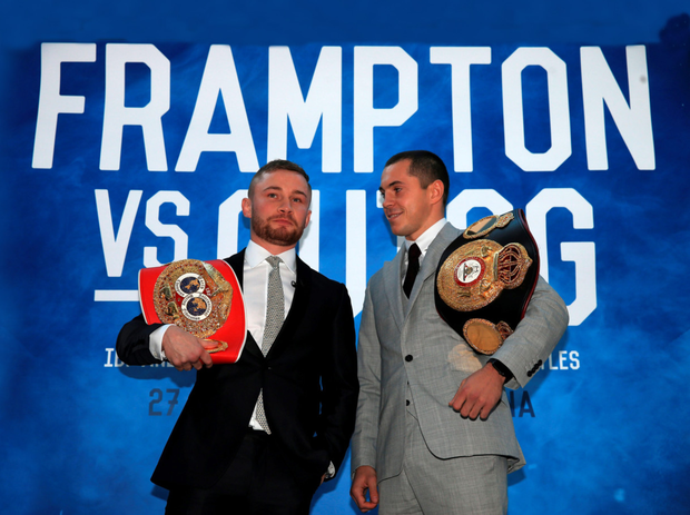 Carl Frampton and Scott Quigg have stoked up the tension between them ahead of their unification fight