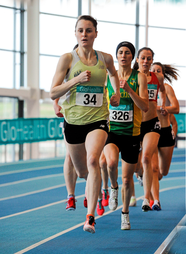 Ciara Mageean made the qualifying standard fro the 1500M