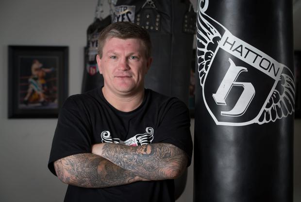 Boxing promoter Ricky Hatton. Photo: Getty