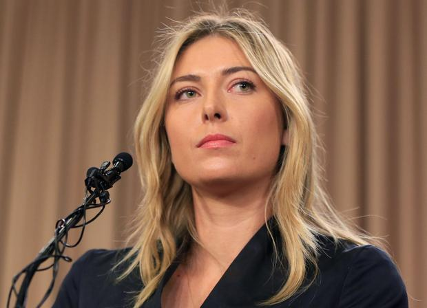 Sharapova's ban is backdated to January 26 this year when she tested positive for meldonium. Picture Credit: AP Photo/Damian Dovarganes