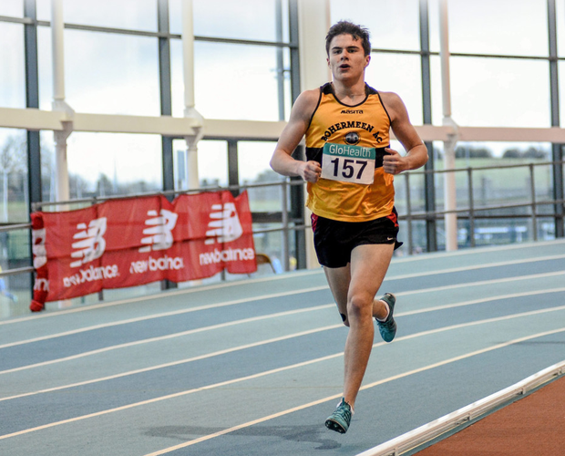 Kevin McGrath of Bohermeen will run for Ireland at the European Youth Championships.