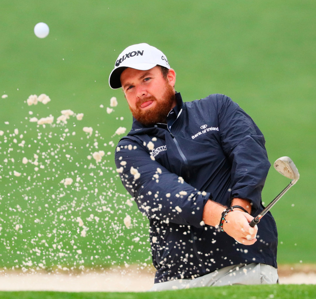 Irish professional golfer Shane Lowry during the first major of the year, the US Masters