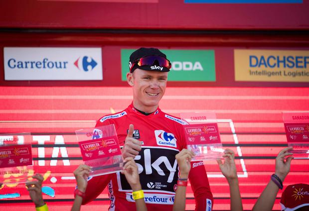 Sky's Chris Froome. Pic: Getty Images