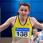In-form: Phil Healy in action at the National Indoor Championships