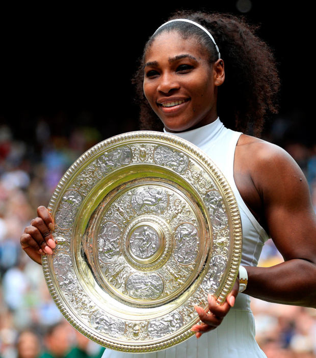 Seeded: Serena Williams
