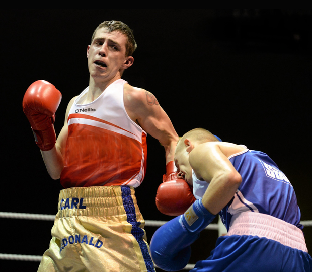 Showdown: Carl McDonald will fight Cork's Colin O'Donovan at Good Counsel GAA Club