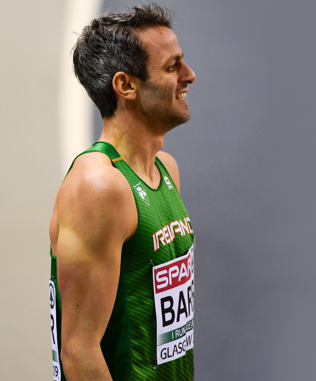 Thomas Barr has been running well this season ahead of the World Championships