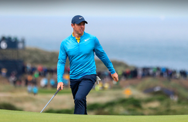 Rory McIlroy hopes to harness home support in his bid to win a second Open Championship