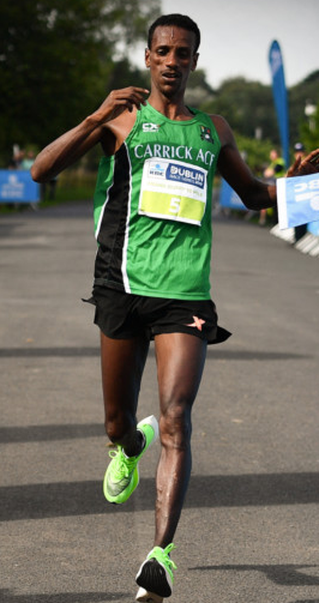 Yared Derese of Carrick Aces will start at Abbotstown