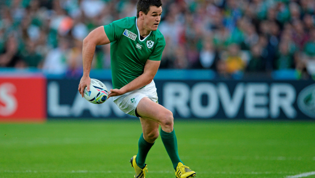 Jonathan Sexton in action for Ireland during last year's World Cup Photo: Sportsfile