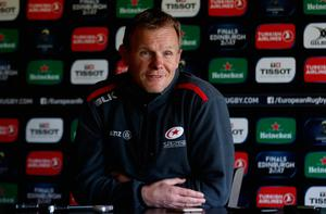 Saracens director of rugby Mark McCall. Photo: David Rogers/Getty Images